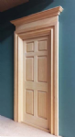 Georgian six panel door